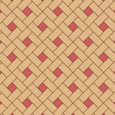 квадрат сложный диагональный из двух пород (дуб, красное дерево)