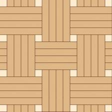 плетенка четверная из двух пород дерева дуб, клен